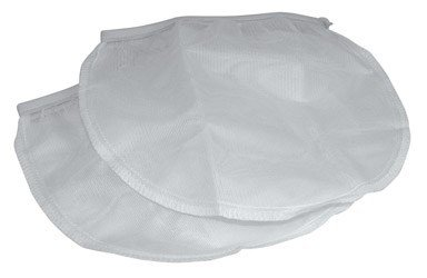 Mirro 9665000A 2-Count Canning Accessories Jelly Strainer Elastic Banded Bags Cookware, White -
