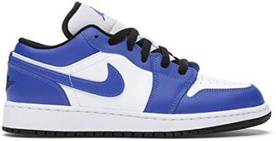 Jordan Air 1 Low (GS) 553560 124 Sz 6y Blue