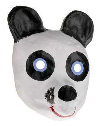 Panda Oso Panda Máscara Niños Máscaras Máscaras de animales