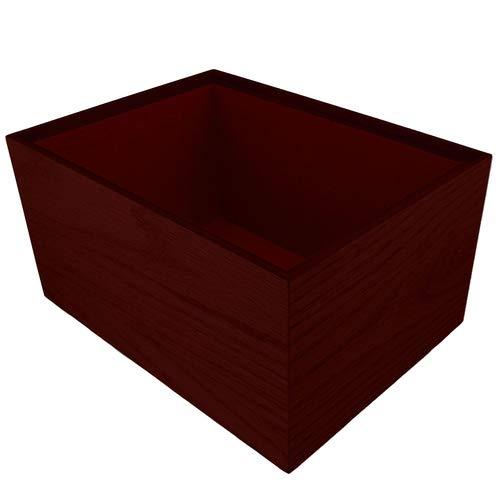 Perfect Memorials Custom Engraved Medium Timeless Rosewood Cremation Urn