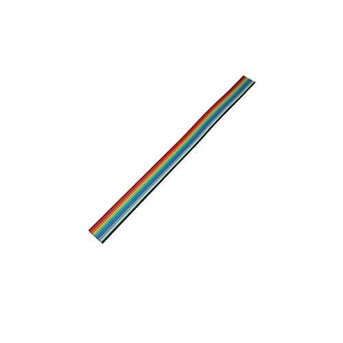 1,27 mm C/âble plat multicolore de la marque MANAX/® 10 broches 3 m grille