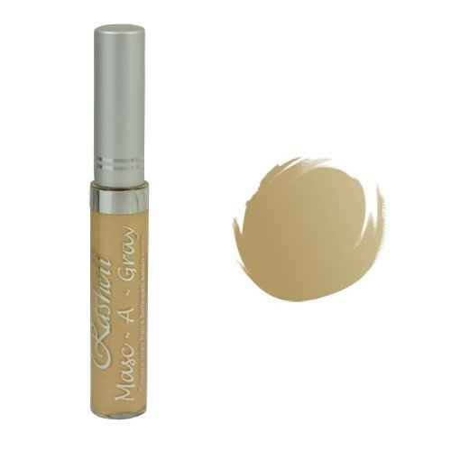 (6 Pack) RASHELL Masc-A-Gray Hair Color Mascara - Natural Light Blond