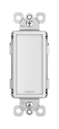 Legrand - Pass & Seymour radiant NTLFULLWCC6 Full LED Night Light with Adjustable Light Levels, White from Pass & Seymour