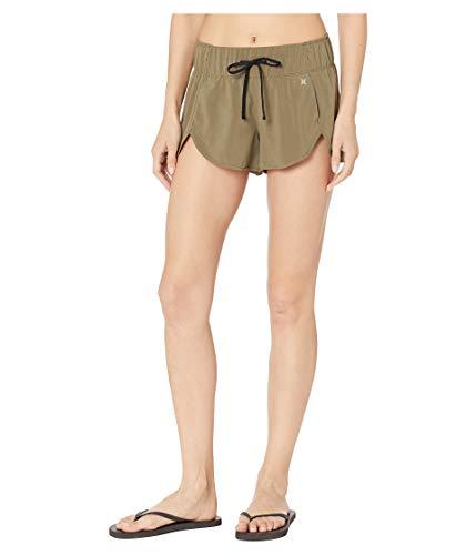 - Hurley Women's Apparel Women's Aquas Board Shorts, Medium Olive, L