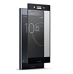 Clear Tempered Glass Screen Protector with Black Frame For Sonny Experia_C5 Ultra