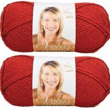 Bulk Buy: Vanna's Choice Lion Brand Yarn (2-pack) (Brick)
