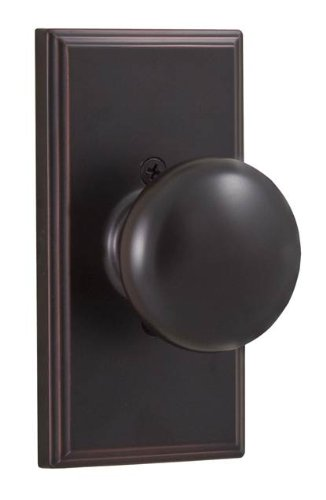 - Weslock 03705I1--0020 Impresa Knob, Oil-Rubbed Bronze