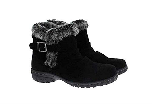 - Khombu Ladies' All Weather Boot Black 8