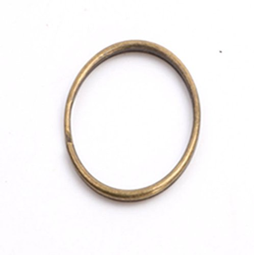 50 split rings - 6