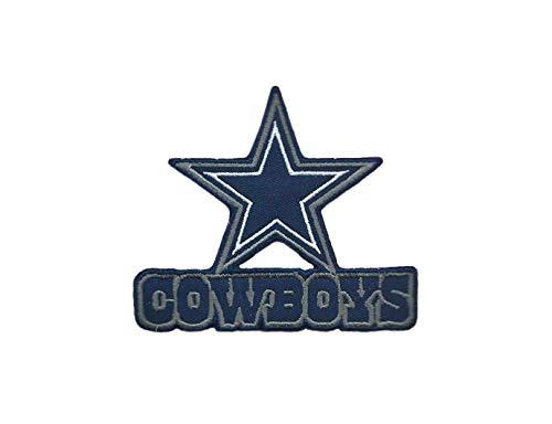 - Dallas Cowboys Iron ON Patch 3 1/2 X 4 INCH
