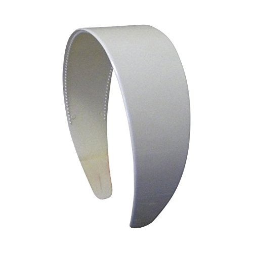 White Plastic Headband Motique Accessories product image