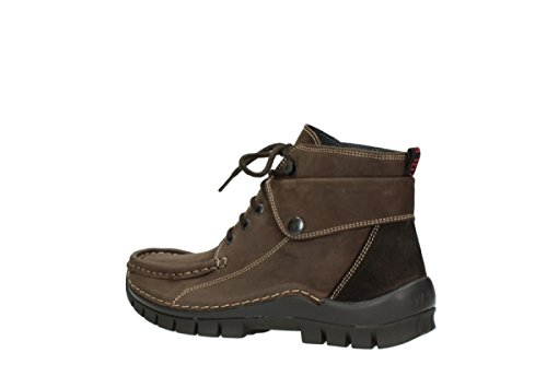 Brown Jewel Leather Oiled 50300 3204 Wolky Sandals Womens Nubuck YxqRtEf