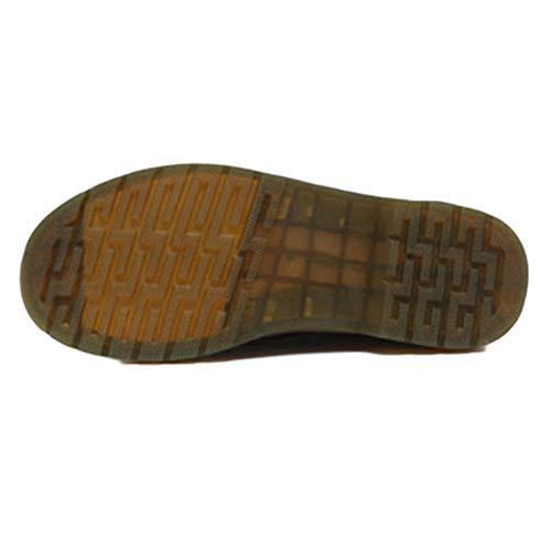 Martin Chelsea Stivali Pelle Stivali Brogue Oxblood in retr Stivali Uomo Classico Pelle Boots Sicurezza Nero Medio Stivali RnvX65qx6