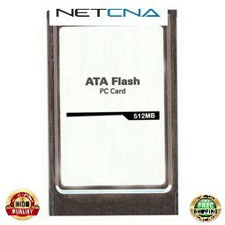 MEM-12KRP-FD512M 512MB Cisco 12000 Series PCMCIA ATA Flash Disk 3rd Party 100% Compatible memory by NETCNA USA (Flash Disk Series Pcmcia)