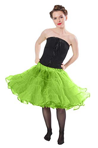 Madeline Knee Length Petticoat Very Full Skirted Dance Petticoat for Serious Skirt Volume Vintage Clothing and Rockabilly