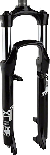 SR Suntour XCM Suspension Fork 26'', 1 1/8'' 255mm threadless steerer, 100mm by SR Suntour