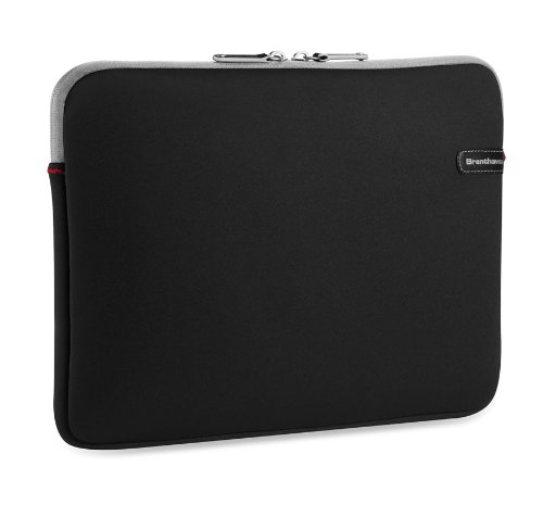 Brenthaven 5102101 Ecco-prene III Sleeve for Tablet / Laptop / Apple Macbook up to 17-Inch - Black by Brenthaven