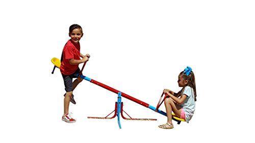 SLIDEWHIZZER 360 Hercules Seesaw – Outdoor Fun for Kids, Toddlers, Boys, Children - Playground Equipment Spinning Toys - Backyard Teeter Totter - Twirl Merry go Round playset by SLIDEWHIZZER