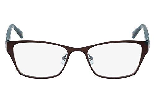 Óculos De Grau Marchon Nyc M-Refinery 210/52 Marrom