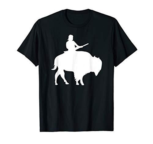 - Guy on a Buffalo Silhouette T-shirt