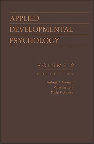 Developmental Psychology Ebook