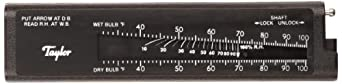Taylor Precision Products Pocket Sling Psychrometer (20- to 120-Degrees Fahrenheit)