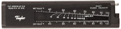 (Taylor Precision Products Pocket Sling Psychrometer (20- to 120-Degrees Fahrenheit))
