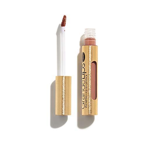 Locked Balm Lip Lip - GrandeLIPS Plumping Liquid Lipstick, Semi-Matte, River Clay