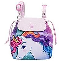Bolsa Infantil Princesa Pink Mochila Unicornio Gradiente