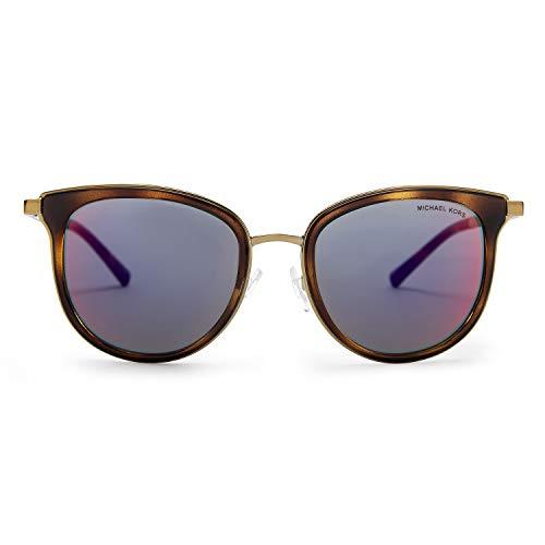(Michael Kors MK1010 Adrianna Polaroized Sunglasses (Tortoise-Gold/ Red Mirror) )
