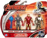 Marvel Avengers Age of Ultron Iron Man vs Ultron Exclusive 3 3/4 Action Figur…