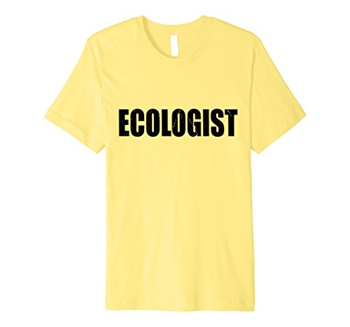 Ecologist Costume (Mens Ecologist T Shirt Halloween Costume Funny Cute Distressed XL Lemon)