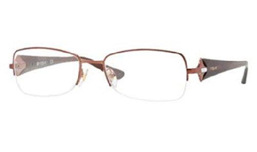 Vogue VO3864B Eyeglasses-811 Brown-53mm (No Prescription Color Contacts)