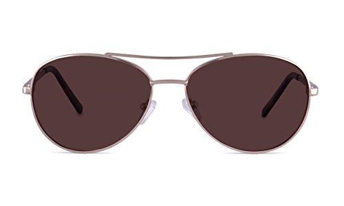 TheraSpecs Pilot Migraine Glasses for Light Sensitivity, Photophobia and Fluorescent Lights | Unisex | Polarized Outdoor - Help Migraines Sunglasses Do