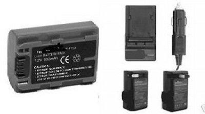 npfp50バッテリー+充電器for Sony dcr-hc19、Sony dcr-hc20、Sony dcr-hc21、Sony dcr-hc22、Sony dcr-hc23   B01DNABJIK