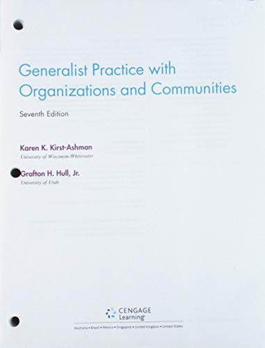 Bundle: Empowerment Series: Generalist Practice with Organizations and Communities, Loose-Leaf Version, 7th + MindTap So