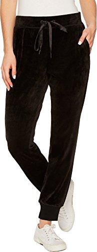 Velour Track Pant (Sanctuary Women's Velour Track Jogger Pants Black Small)