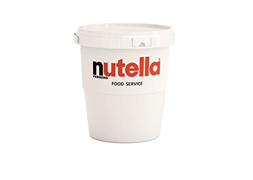 Nutella Hazelnut Spread Tub, 105 - Lb Bucket 6
