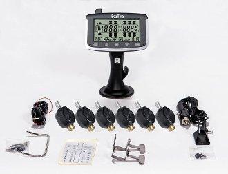 EEZTire Tire Pressure Monitoring System - 6 Flow-Through Sensors (TPMS)