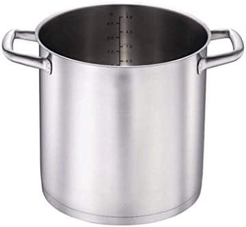 WYJBD Couvercle en Acier Inoxydable Stock Pot - Induction Marmite Marmite Four Pot
