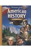 McDougal Littell Middle School American History: Student Edition Beginnings to 1914 2008