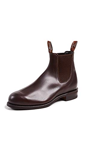 - R.M. Williams Men's Comfort Turnout Boots, Rum, Brown, 10 M UK