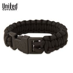 United Cutlery Elite Forces Paracord Bracelet, Small