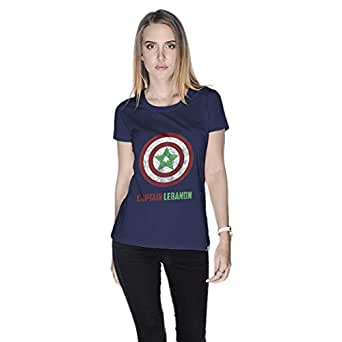 Creo T-Shirt For Women - S, Navy