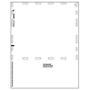 Amazon Blank Self Mailer Tax Form 1099 Misc Office Products