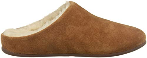 Tan tumbled Femme Fitflop 645 Shearling Chaussons Marron Mules Chrissie qpYw0