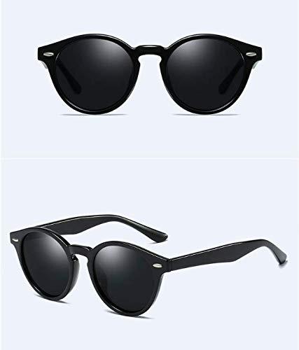 YLNJYJ Polarized Sunglasses Women Men Round Uv400 Sun Glasses Blue Lenses Women Sunglasses Uv400 Goggle Lentes De Sol Mujer