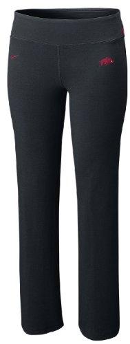 Arkansas Razorbacks Women's Be Strong Dri-FIT Cotton Pants by Nike (L=12-14)