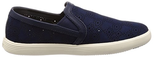 Marine Cole On Perf Slip Women's Sneaker Crosscourt Haan Grand Blue qrwXR6r0