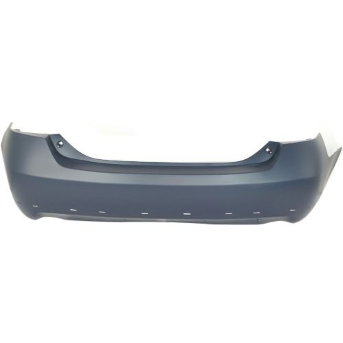Perfect Fit Group RBT760101 - Camry Rear Bumper Cover, Primed, W/ Spoiler Hole, Usa Built, Se Model Bumper Cover Spoiler